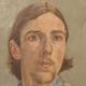 1973 Self-portrait Oil, Drawings & Paintings, Art
