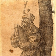 Durer Man with Bagpipe
