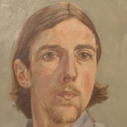1973 Self-portrait Oil, Drawings & Paintings, Art