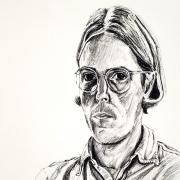 1974 Self-portrait Lithograph