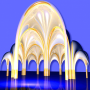 2002 Nested Arches, Geometric